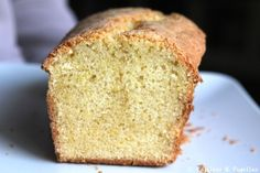 Cake au citron de Christophe Felder - Lemon bread (yum yummy)
