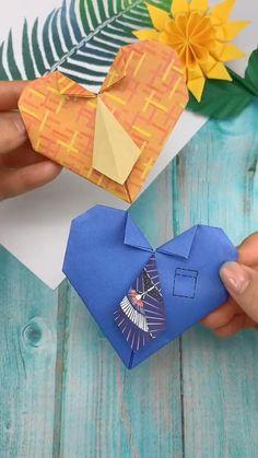 Diy Crafts Step By Step, Easy Diy Crafts, Diy Arts And Crafts, Creative Crafts, Cool Paper Crafts, Paper Crafts Origami, Craft Work For Kids, Crafts For Kids, Instruções Origami