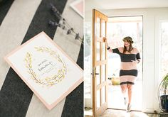 Rustic French baby shower by MStarr Events | 100 Layer Cakelet