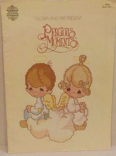 Precious Moments Angels Children Prayer God Counted Cross Stitch 19 Patterns #PreciousMoments #Sampler