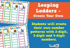 Leaping Ladders - Create Your Own Patterns
