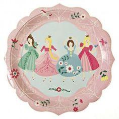 Assiettes Princesses