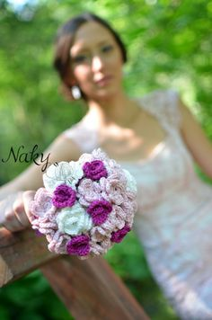 Crochet your Bridal bouquet