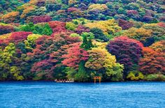 Hakone, Ashi Lake  Japan