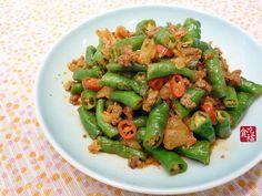 泡菜辣炒糯米椒 ♥牛絞肉 1食譜、作法   貪吃橘的多多開伙食譜分享
