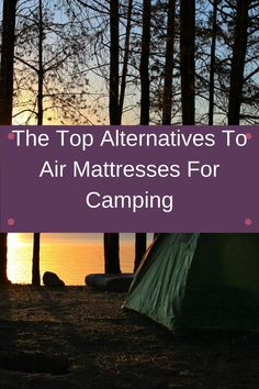 We all like to sleep comfortably and this is trickier when we're camping. While many people love to take air mattresses, read this article to see what other options there are. Best Camping Hammock, Portable Hammock, Camping Pillows, Camping Mattress, Rain Fly, Sleep Solutions, Best Insulation, Good Sleep