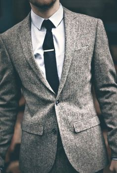 Use textures for winter. #menswear #style #fashion