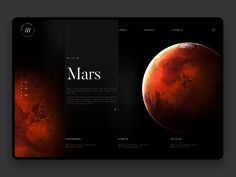 Space exploration mars hd