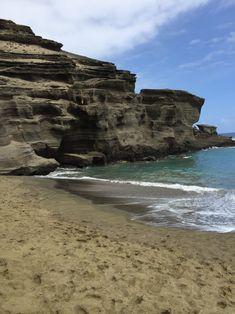Auf den grünen Strand war ich sehr gespannt und er war schöner als ich mir vorgestellt hatte :).