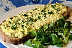 Jemná vajíčková pomazánka – Maminčiny recepty Baked Potato, Quiche, Potatoes, Baking, Breakfast, Ethnic Recipes, Food, Morning Coffee, Potato