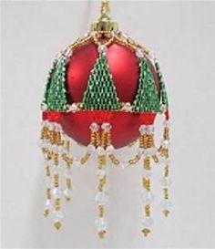 25+ bästa idéerna om Beaded Ornament Covers på Pinterest ...