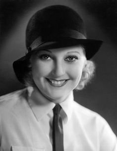 Thelma Todd, beautiful & funny screen comedienne, early '30s