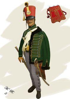 5th Hussars Field - Baron Ott