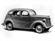 Ford Prefect 4-door Saloon (E93A) '1938–49