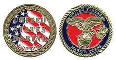 E1 USMC Private Coin Item # CC-638