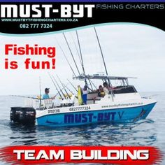 Fishing is the perfect team building activity | Must Byt Fishing Charters, Team Building Activities, Deep Sea Fishing, Team Leader, Team Photos, Tie Knots, Teamwork, Problem Solving, Shout Out