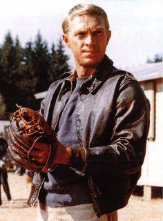 Steve McQueen - The Great Escape (1963) - #A2leatherjacket