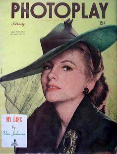 Joan Fontaine - Feb 1945