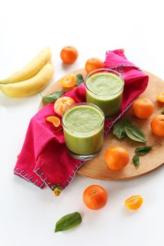 Clementine Green Smoothie | Minimalist Baker Recipes