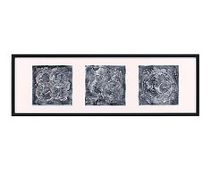Cuadro en madera Arte Moderno - 120x40 cm