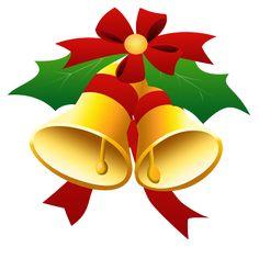 Campanas de navidad para imprimir-Imagenes y dibujos para imprimir