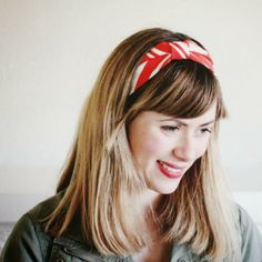 poppy haus: DIY Turban Headband @Michelle Virtue can those little girls make me some if these?
