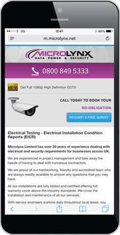 New Mobile Website for Microlynx