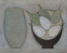 Jar with Six Pears, (2012) by Vivienne Williams