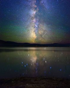 "498 отметок «Нравится», 10 комментариев — RBA (@deepskycolors) в Instagram: «""Impression"" Phillips Lake, OR (two days before totality) Spending four nights at Phillips Lake,…»"