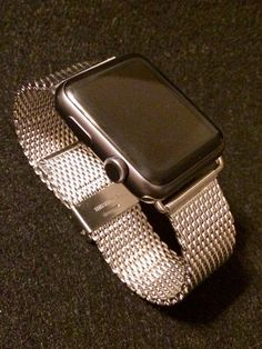 Apple Watch Stainless Steel Band Adapter by AppleCharmers on Etsy