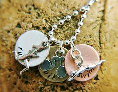 triathlete necklace