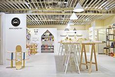The ANNIVERSARY MiLK Pop-up Shop is Designed for Kids #branding trendhunter.com