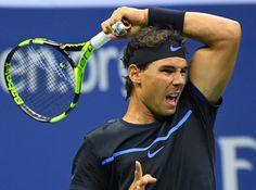 Rafael Nadal x Andrey Kuznetsov US Open 2016 (Foto: Reuters)