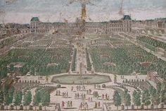 Jean Bullant: Le palais des Tuileries. - Dès 1570, Jean Bullant est appelé par Catherine d Médicis et oeuvre pour elle. Jean Bullant poursuit alors le travail de Philibert Delorme au Palais des Tuileries après la mort de ce dernier (1570) et termine le chateau de St-Maur, près de Paris. Il réalise la galerie du chateau de Chenonceau (1576-77).