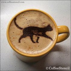 coffee art | Cats in coffee art | Kittens and Cat Pictures and news