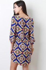 Hypnotic Tribal Dress #urbanog