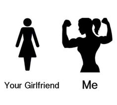 LOVE IT! Your girlfriend doesn't even squat