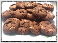 Galletas Brownie con chips de chocolate blanco