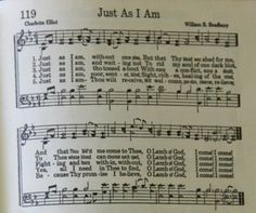 Just As I Am my memaw used to sing this in Enon Baptist Church My favorite out of all the songs Church Songs, Church Music, Christian Love, Christian Songs, Praise Songs, Praise And Worship, Prayer Scriptures, Scripture Quotes, Gospel Music