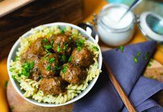 Bakonyi húsgolyók Beef, Cooking, Ethnic Recipes, Food, Meat, Kitchen, Essen, Meals, Yemek