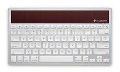Logitech Apple-Like Solar Powered Keyboard Controls Mac, iPad and iPhone
