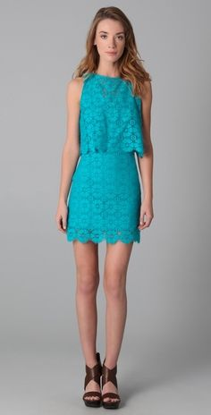 Rebecca Minkoff Jemme Lace Dress thestylecure.com