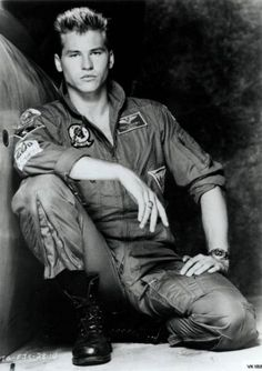 Val Kilmer in Top Gun...I love