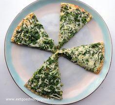 Deze pizzabodem zonder gluten of lactose smaakt bijna net als een echte pizza en is de perfecte basis voor je favoriete saus en toppings!