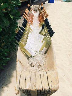 Ambiance apero - plage pour un vin d'honneur