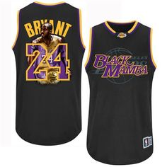 Adidas Los Angeles Lakers #24 Kobe Bryant Black Notorious Men NBA Stitched Jersey http://www.nfljerseys1967.com/nba-jerseys-c-434.html