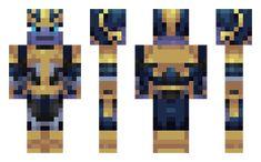 Thanos skin for Minecraft
