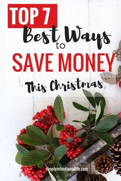 You don't have to spend a bunch of money on Christmas gifts. You can save money easily this Christmas season. Read this post for the best ways to save money on Christmas gifts this season. #christmasgifts #christmas #shopping