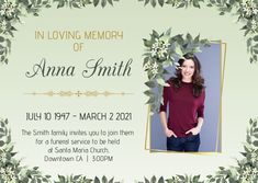 Death Anniversary & funeral template, obituary poster template, farewell posters designs, memorial posters for funeral, celebration of life poster, death anniversary cards, 1st death anniversary cards Postcard. Tags: funeral, funeral template, memorial day, obituary, obituary template, Memorial Day, Funeral , Memorial Day Anniversary Cards, Funeral Memorial, Memorial Day, Santa Maria Church, Life Poster, Poster Designs, In Loving Memory, Flyer Template