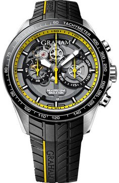 Graham Watch Silverstone RS Skeleton Yellow Limited Edition Pre-Order #basel-15…